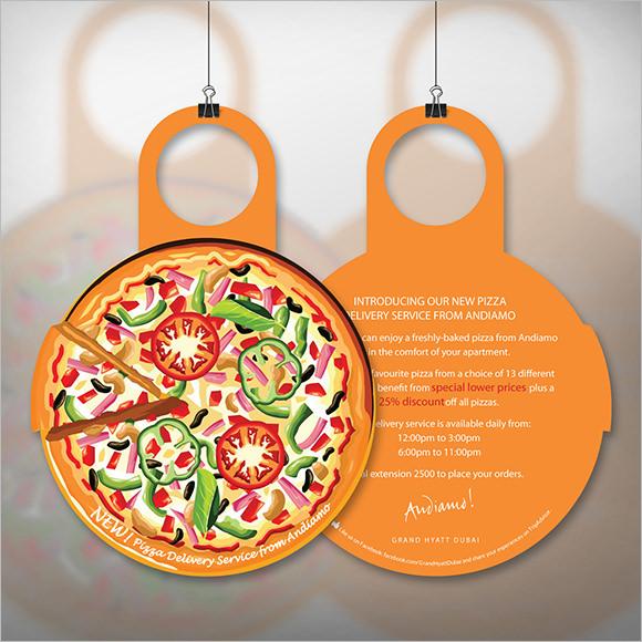 10+ Restaurant Door Hanger Templates - PSD , In Design