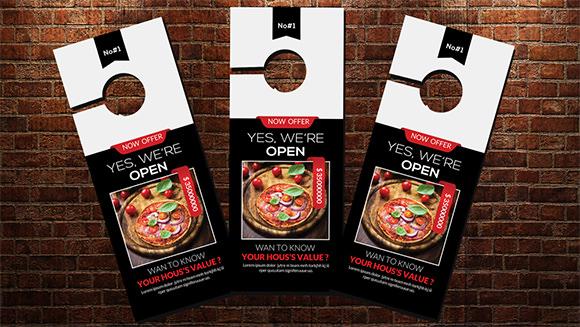 10+ Sample Door Hanger Designs Sample Templates