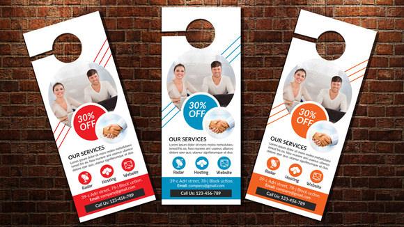 7+ Retail and Consumer Door Hangers Sample Templates