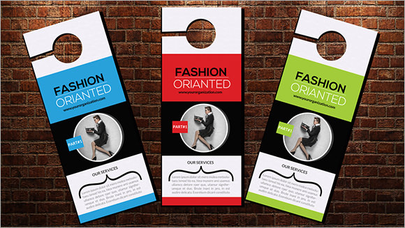7+ Retail and Consumer Door Hangers - PSD - retail and consumer door hanger template