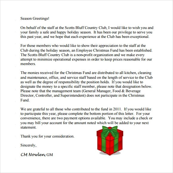 20+ Sample Christmas Letters Sample Templates