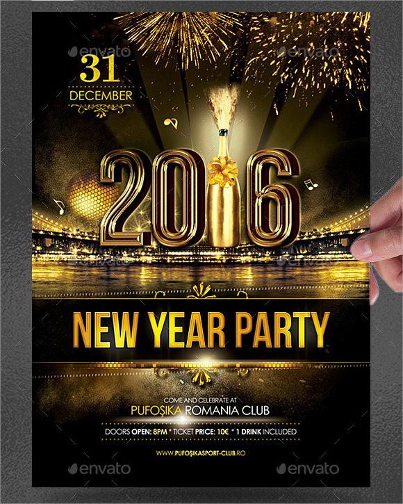 new year poster - Romeolandinez - new year poster template
