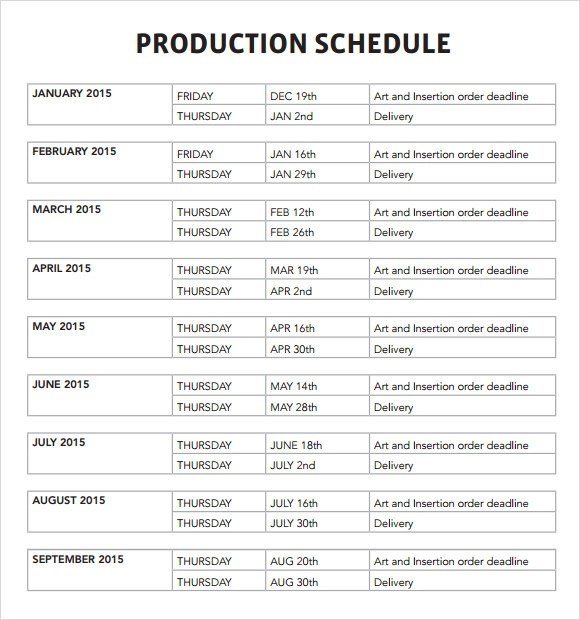 Production Timeline Template Event Event Checklist Template Excel - sample production timeline