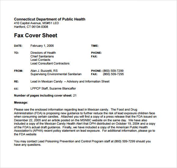 Sample Cute Fax Cover Sheet Fax Cover Sheet Free \ Premium - simple fax cover sheet