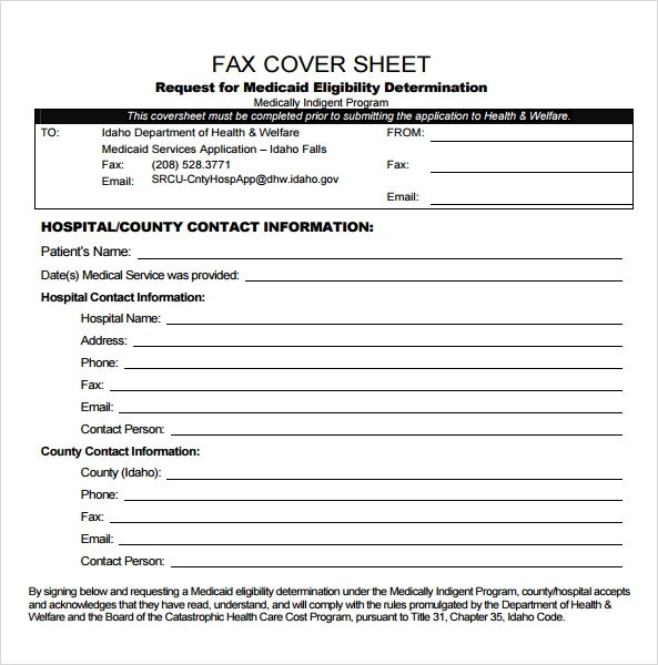 Blank Fax Cover Sheet Blank Fax Cover Sheet Fax Cover Sheet - sample cute fax cover sheet