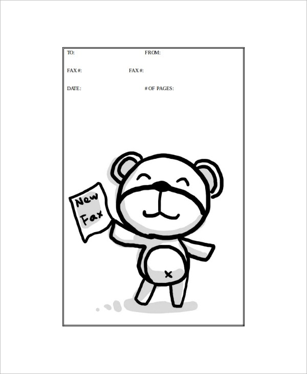 Cute Fax Cover Sheet  NodeCvresumePaasproviderCom