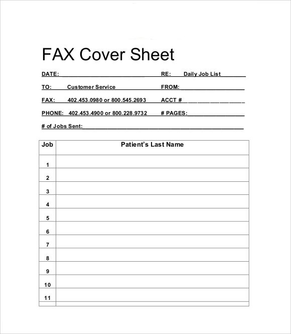 Cover Sheet Template Best Word Templates Ms Word Pull Out Quotes - Sample Modern Fax Cover Sheet