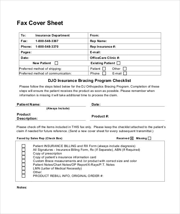 Cute Fax Cover Sheet Blank Fax Cover Sheet Free Word Pdf Documents