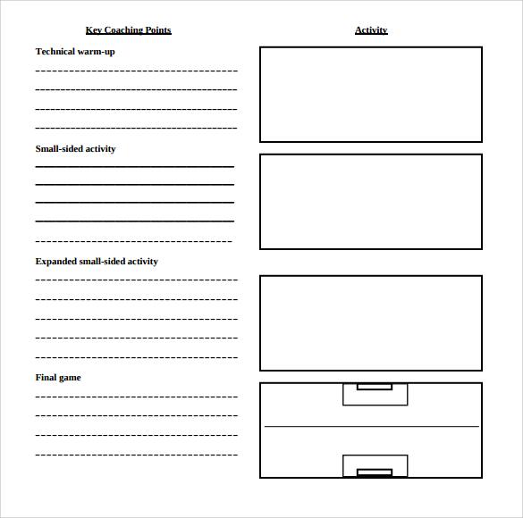 11+ Sample Blank Lesson Plans Sample Templates - blank lesson plan template