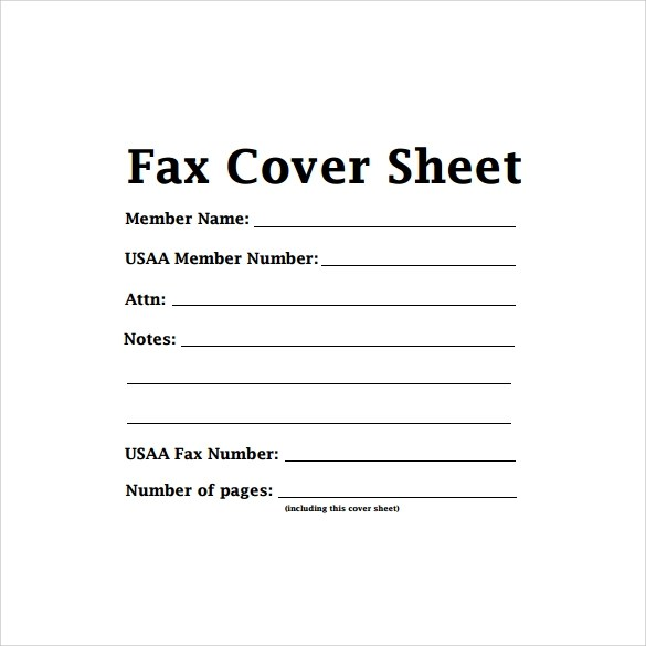 Sample Cute Fax Cover Sheet - 6+ Documents in PDF - sample cute fax cover sheet