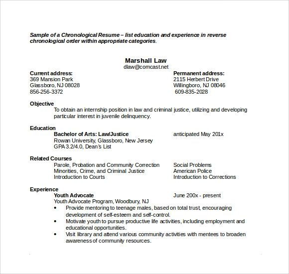 resume in microsoft word 2013