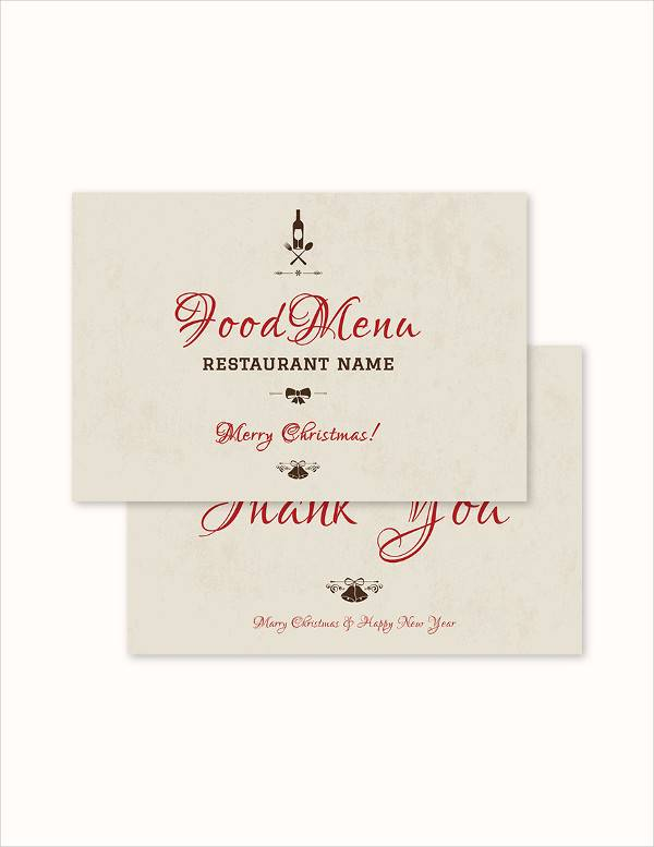 Christmas Thank You Cards - 29+ Download Documents in PSD , Vector