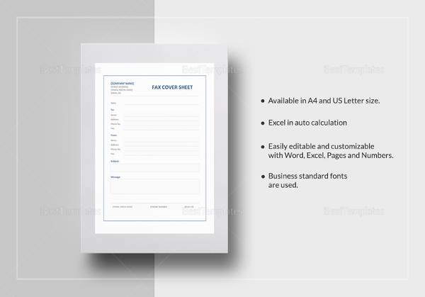 Sample Urgent Fax Cover Sheet - 7+ Documents in PDF