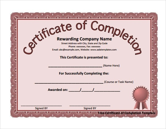 28 Microsoft Certificate Templates Download for Free Sample Templates - certificate template doc