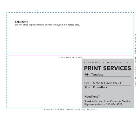 8+ Sample A2 Envelope Templates Sample Templates