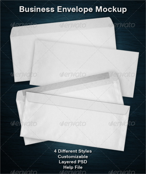 12+ Business Envelopes Sample Templates