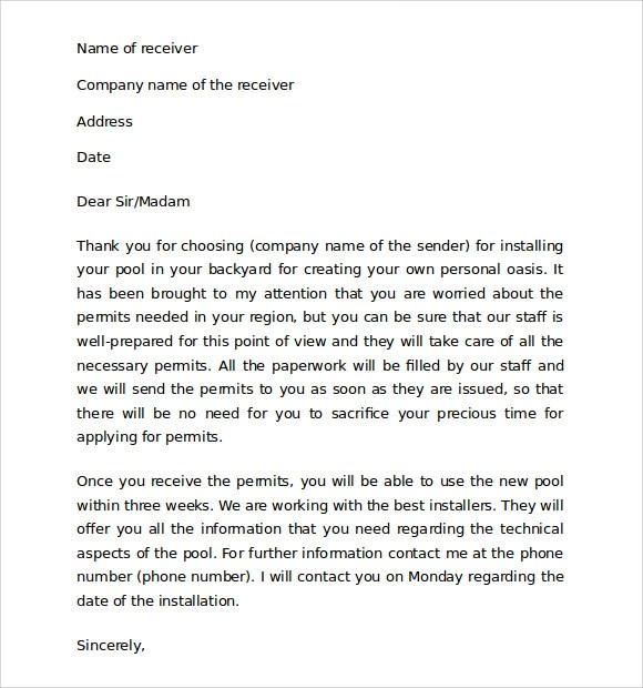 10+ Sample Thank You for Your Business Letters Sample Templates - sample letter of appreciation