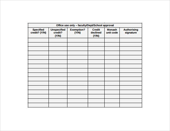 Credit Application Form Template Free Nz – Application Form Template Free