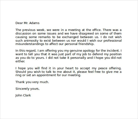 How to write an apology, Term paper Writing Service - letter of personal apology