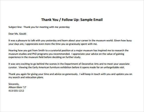how to write a thank you note after an interview samples