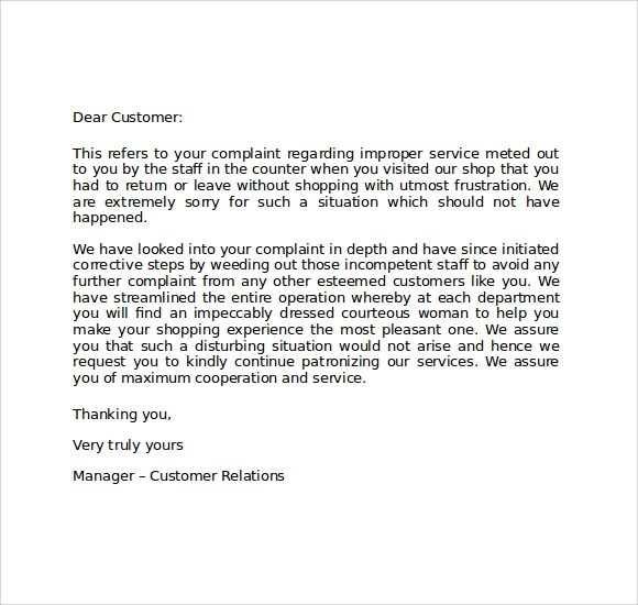 customer apology letter sample - Alannoscrapleftbehind - Letter Of Apology To Your Boss