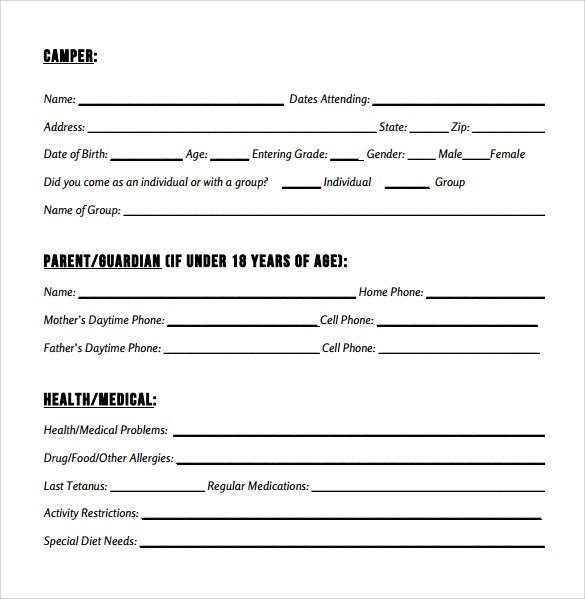 9 Medical Consent Form Examples Download for Free Sample Templates - medical consent form example