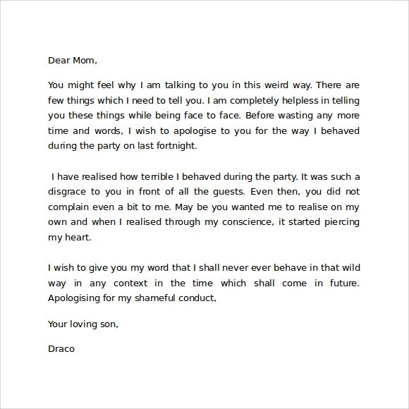 Thank You Letter For Mom How To Write A Thank You Letter With Sample Letters  Download