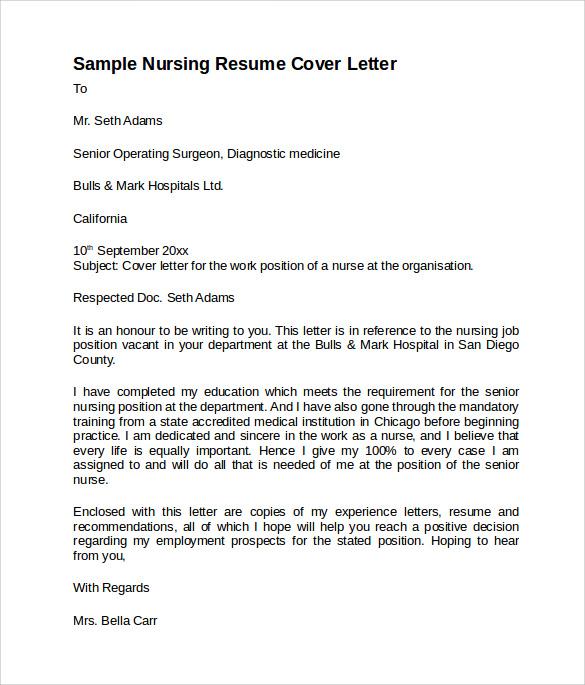nursing experience resume sample