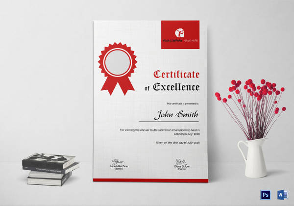 28+ Microsoft Certificate Templates - Download Free Documents in - microsoft certificate of excellence