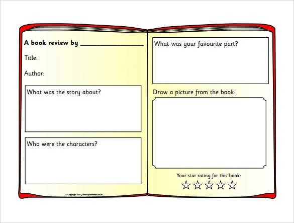Book reviews template