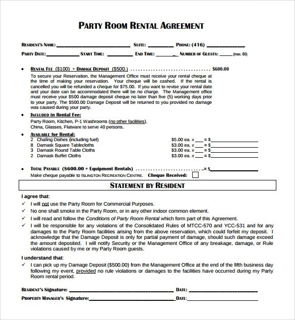 Room Rental Contract Michigan-Sublease Free Michigan Sublease - room rental agreements