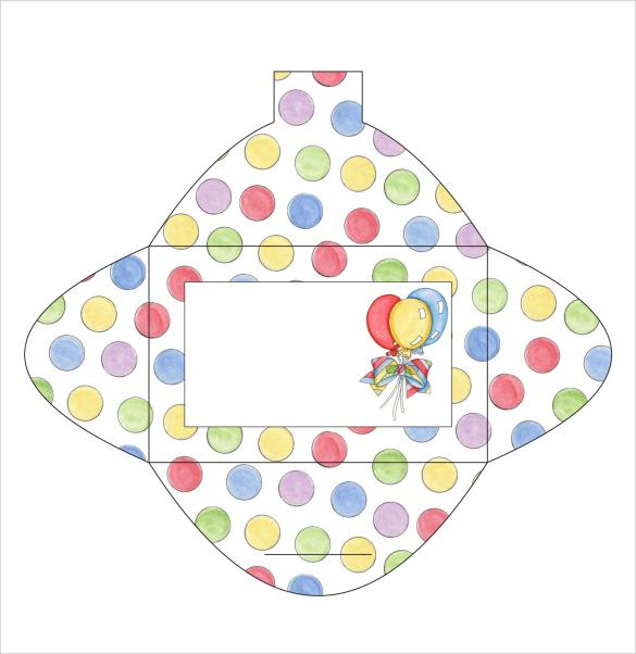 10+ Gift Card Envelope Samples Sample Templates - gift card envelope template