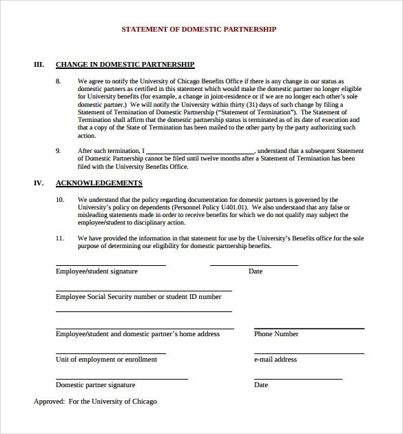 Business Partnership Agreement Template Free – Business Partnership Contract