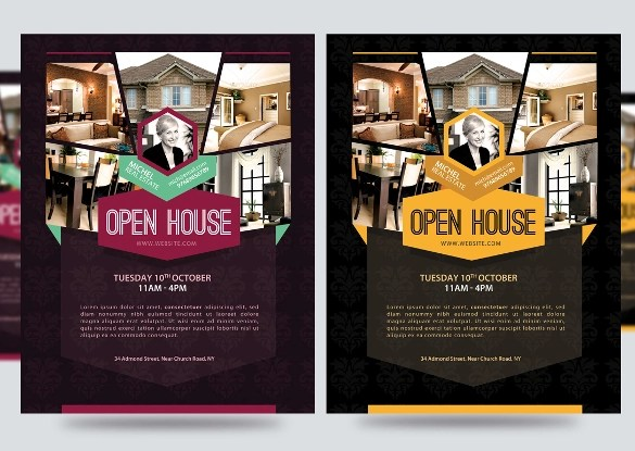 19+ Open House Flyers Sample Templates