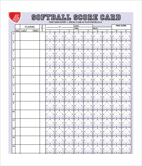 9+ Sample Canasta Score Sheet Templates Sample Templates