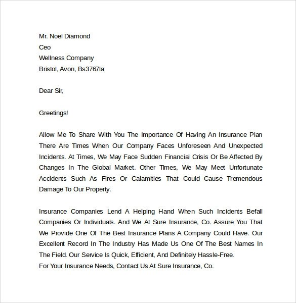 Cover Letter Examples Marketing Cover Letter Examples 10 Download Free
