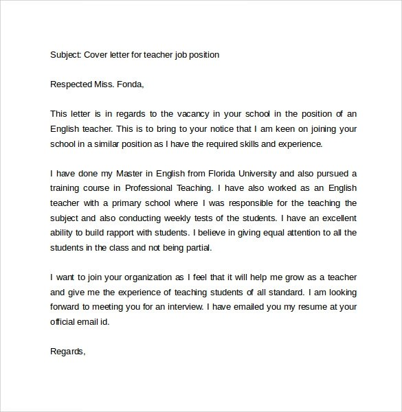 Letter Samples Free Letter Templates Personal And Email Cover Letter Example 10 Download Free Documents