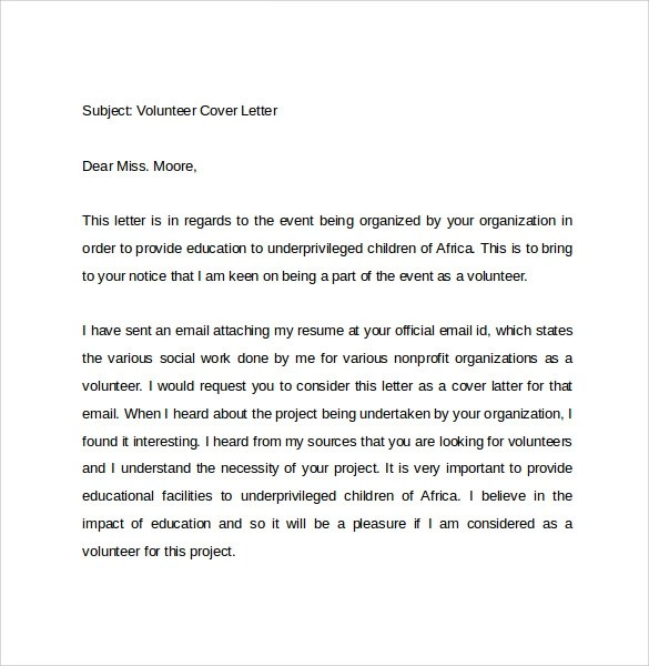 Teacher Cover Letter Sample Email Cover Letter Example 10 Download Free Documents