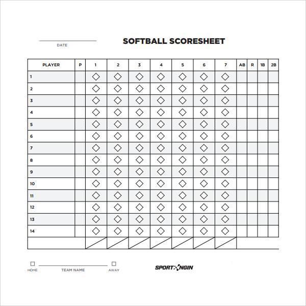Phase Score Sheet Template Free Yahtzee Score Sheet Template - euchre score card template