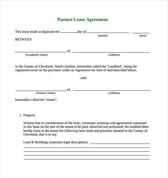 Lease Agreement Word Document | Create Professional Resumes Online