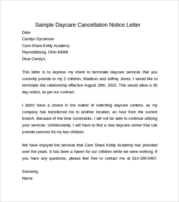 Resignation Letter Cancellation Format | Create professional ...