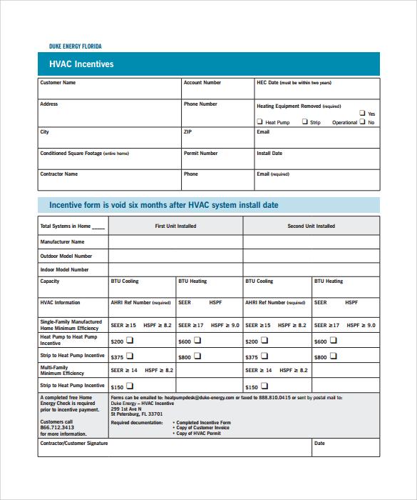Sample HVAC Invoice Template - 14+ Download Documents in PDF, Word - hvac invoice templates