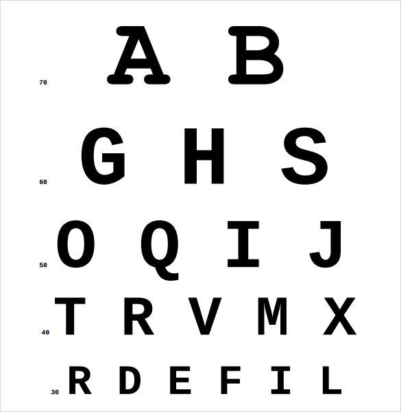 Eye Test Sample Related Keywords \ Suggestions - Eye Test Sample - eye chart template