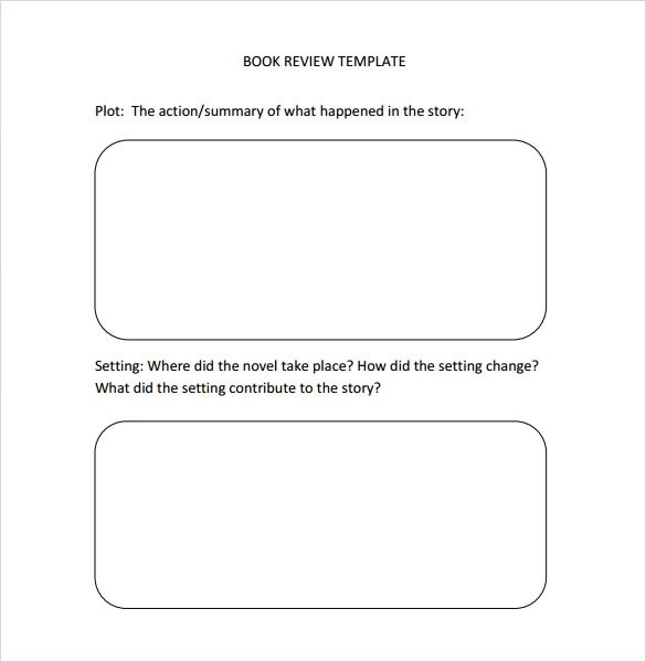 10+ Book Review Templates - PDF, Word