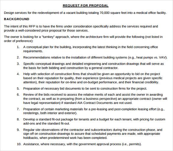 11+ Construction Proposal Templates Sample Templates