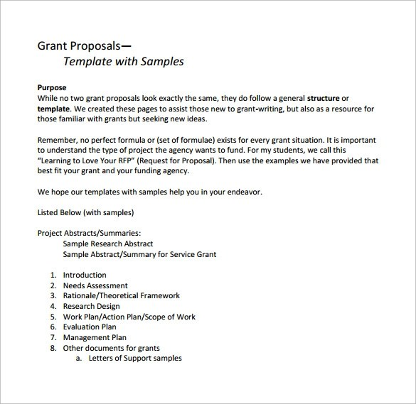 sample usda grant proposal resume for job of lecturer - Grant Cover Letter Example