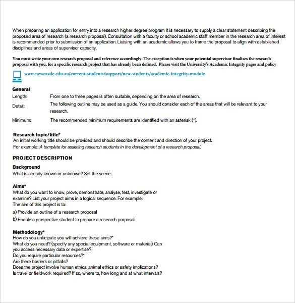 Sample Research Paper Proposal Template - 13+ Free Documents In PDF