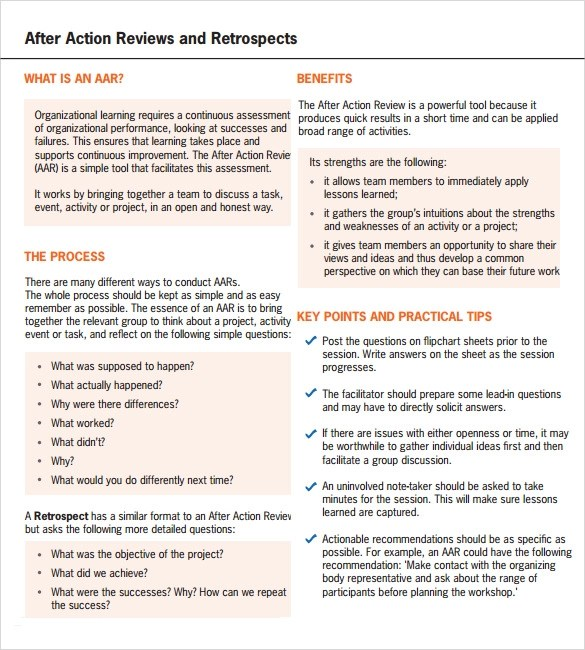Sample Evaluation Report Template  4+ performance reviews examples