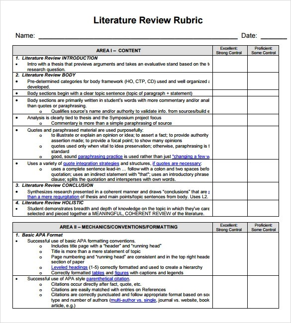 Sample apa style literature review College paper Academic Service