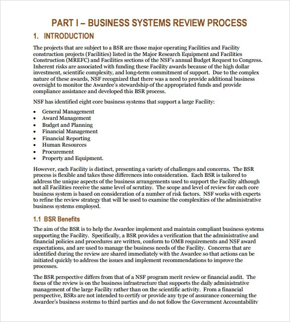 Small Business Plan Examples Pdf